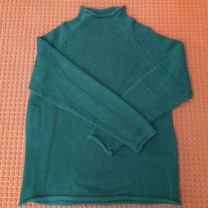 J. Crew turtleneck sweater men's Sz M
